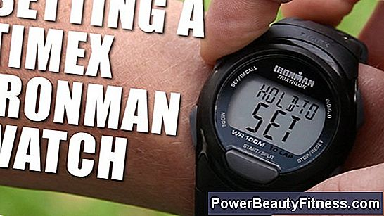 Instructions For A Timex Ironman Triathlon Watch