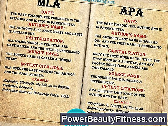 Difference Between Apa And Mla Formats