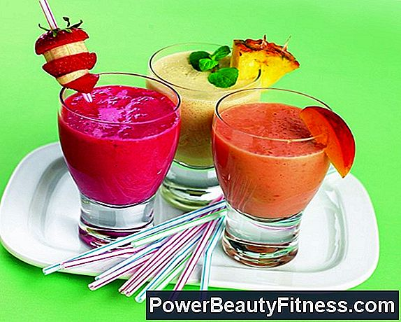 Smoothies And Fruit Smoothies With Raw Eggs