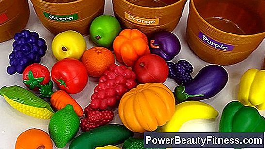 Nutrition: Fruits And Vegetables Colors