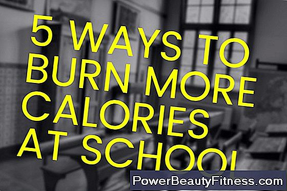 How To Burn Calories At School