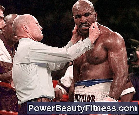 Evander Holyfield And Weight Training